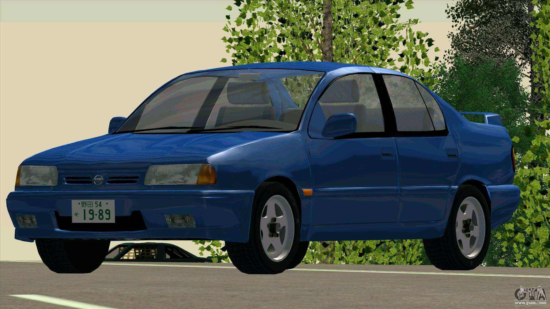 nissan primera 2 0te p10 for gta san andreas. Black Bedroom Furniture Sets. Home Design Ideas