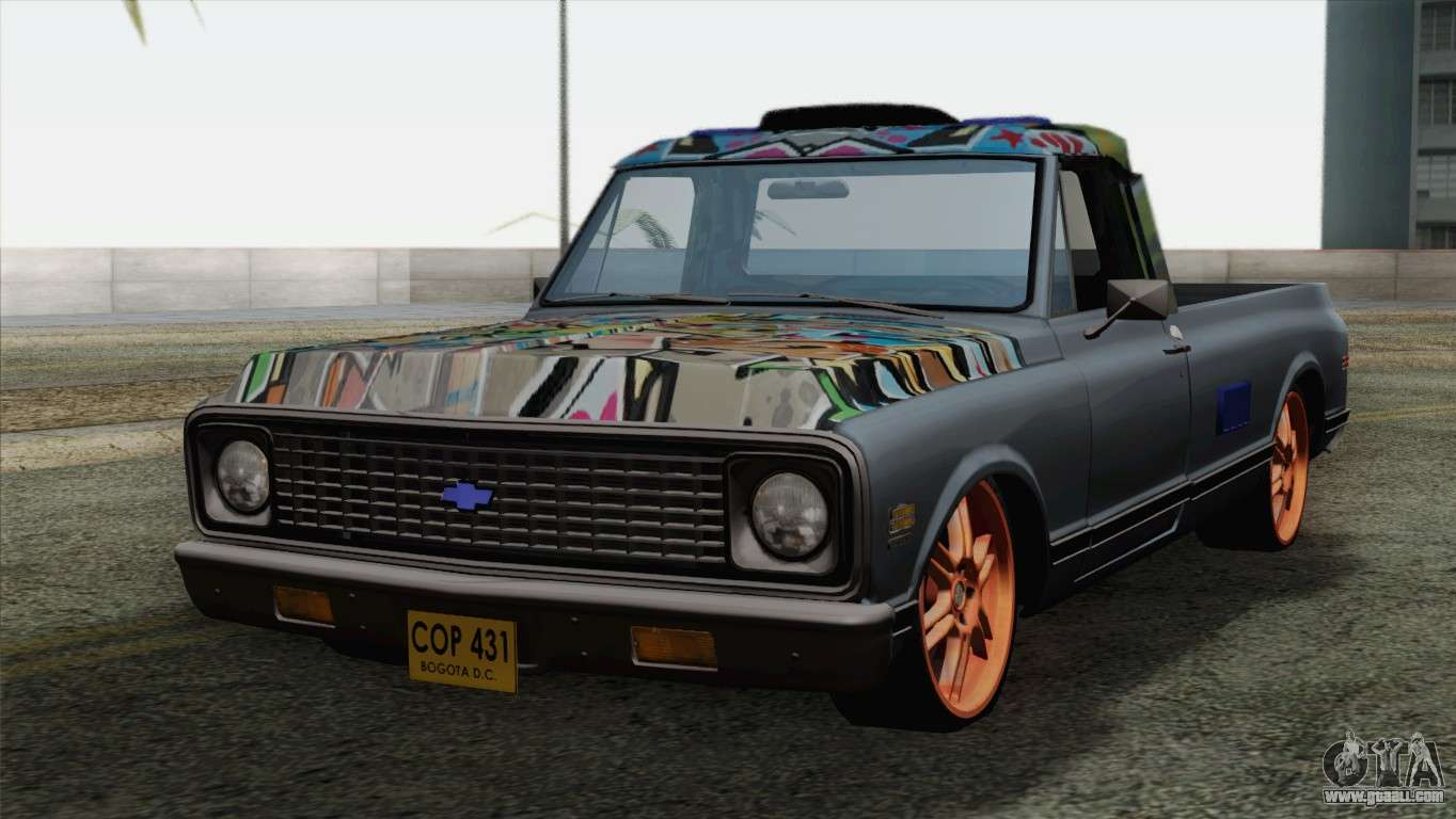 Chevrolet C10 1972 for GTA San Andreas