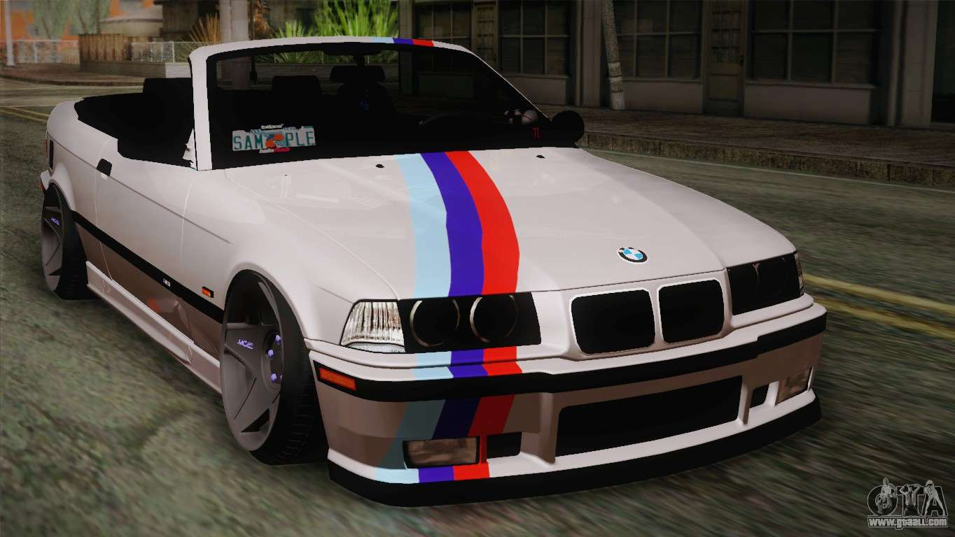 bmw e36 m3 cabrio for gta san andreas. Black Bedroom Furniture Sets. Home Design Ideas