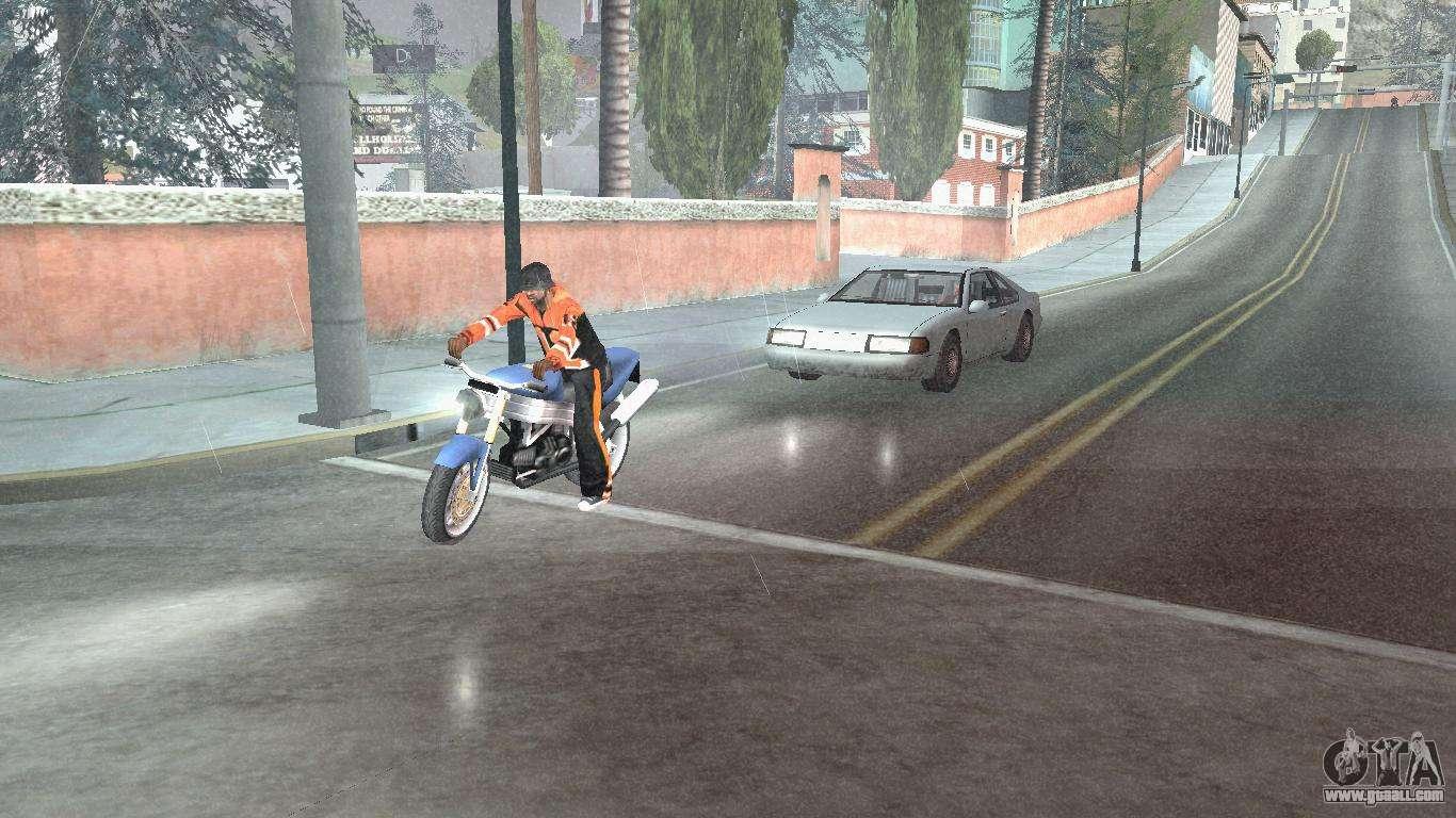 Road Reflections Fix 1.0 для GTA San Andreas for GTA San ...