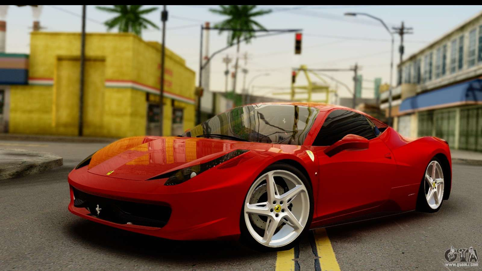 ferrari 458 for gta san andreasferrari 458 italia for gta san andreas