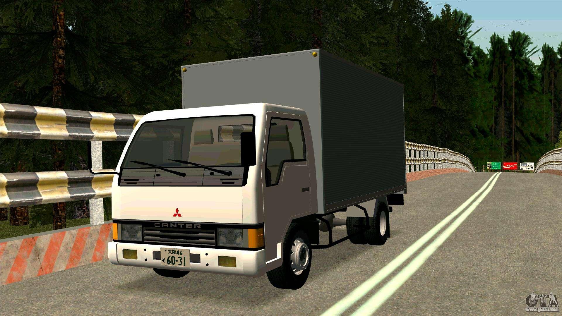 Mitsubishi Fuso For Gta San Andreas