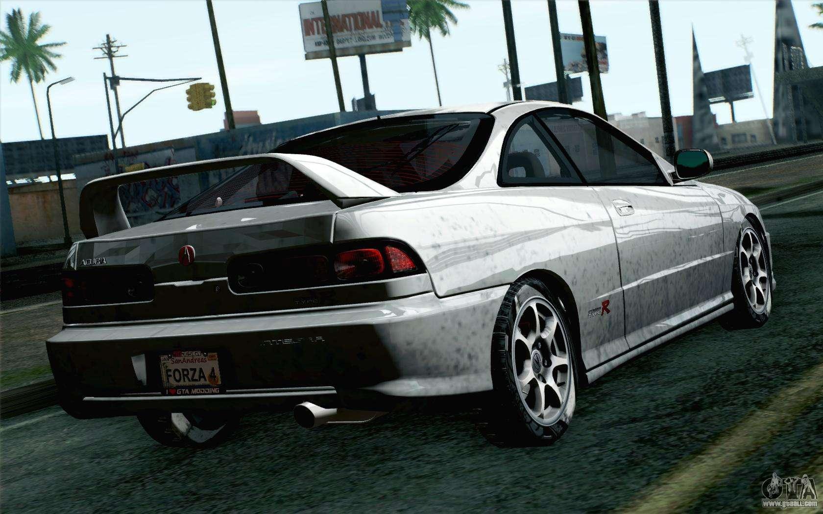 Acura Integra Type R Stock For GTA San Andreas - Acura integra mods