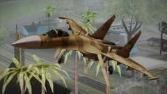 SU-27 Warwolf Squadron for GTA San Andreas