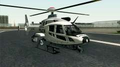 NFS HP 2010 Police Helicopter LVL 1 for GTA San Andreas