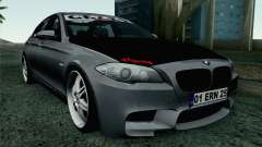 BMW 535i 2011 for GTA San Andreas