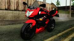 Kawasaki Ninja 250RR Mono Red for GTA San Andreas