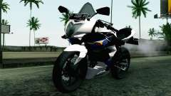 Kawasaki Ninja 250RR Mono White for GTA San Andreas