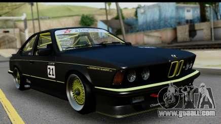 BMW M635 E24 CSi 1984 for GTA San Andreas