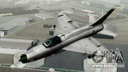 MIG-21MF Vietnam Air Force for GTA San Andreas