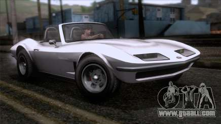 GTA 5 Invetero Coquette Classic TL SA Mobile for GTA San Andreas