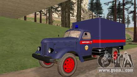 ZIL 157 police for GTA San Andreas