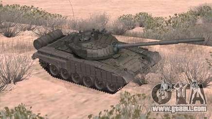 Tank T-72B for GTA San Andreas