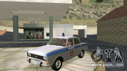 Moskvich 2140 Police for GTA San Andreas