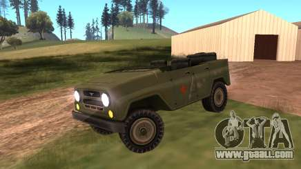UAZ military for GTA San Andreas