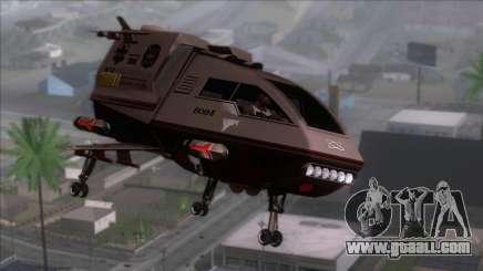 Shuttle v1 (wheels) for GTA San Andreas