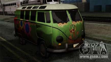 Volkswagen Microbus for GTA San Andreas