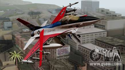 YF-16 Fighting Falcon for GTA San Andreas