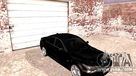 BMW 525i (e60) for GTA San Andreas