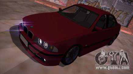 BMW 5-series E39 Vossen for GTA San Andreas