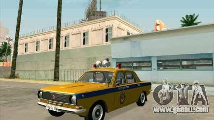 Volga 24-10 GAI for GTA San Andreas