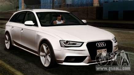 Audi A4 Avant 2013 for GTA San Andreas