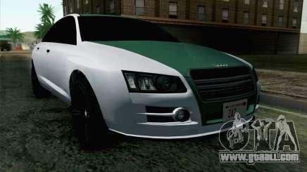 GTA 5 Obey Tailgater v2 IVF for GTA San Andreas