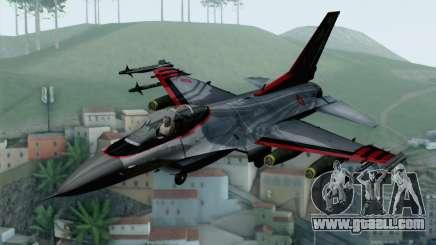 F-16 15th Fighter Squadron Windhover for GTA San Andreas