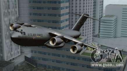 C-17A Globemaster III USAF Mississippi for GTA San Andreas