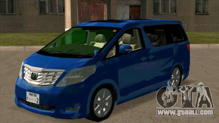 Toyota Alphard 350G for GTA San Andreas