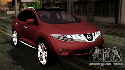 Nissan Murano 2008 for GTA San Andreas