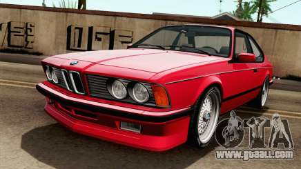 BMW M635CSI E24 1986 V1.0 for GTA San Andreas