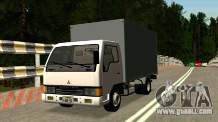 Mitsubishi Fuso Canter 1989 Aluminium Van for GTA San Andreas