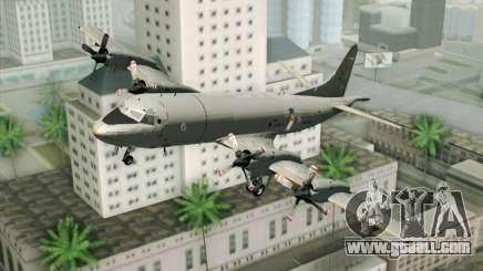 Lockheed P-3 Orion German Navy for GTA San Andreas