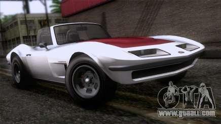 GTA 5 Invetero Coquette Classic TL for GTA San Andreas