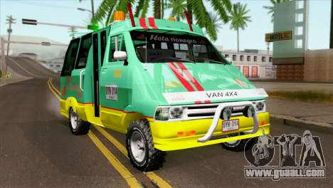 Toyota Microbus v2 for GTA San Andreas