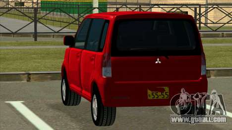 Mitsubishi eK Wagon for GTA San Andreas back left view