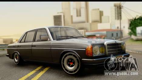 Mercedes-Benz 240 W123 Stance for GTA San Andreas