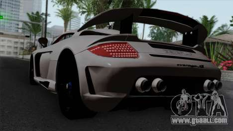 Gemballa Mirage GT v1 Windows Down for GTA San Andreas left view