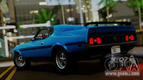 Ford Mustang Mach 1 429 Cobra Jet 1971 IVF АПП for GTA San Andreas left view