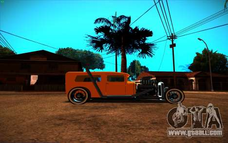 Ford Model A Hot-Rod for GTA San Andreas back left view