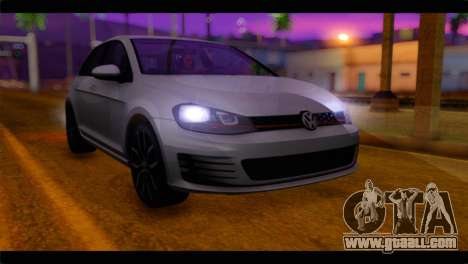 Volkswagen Golf 7 for GTA San Andreas