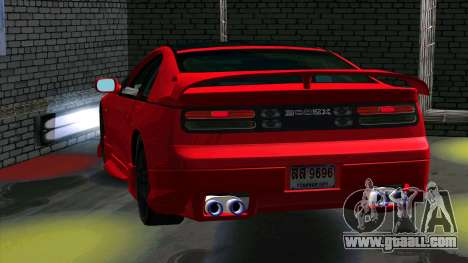 Nissan 300ZX for GTA San Andreas back view