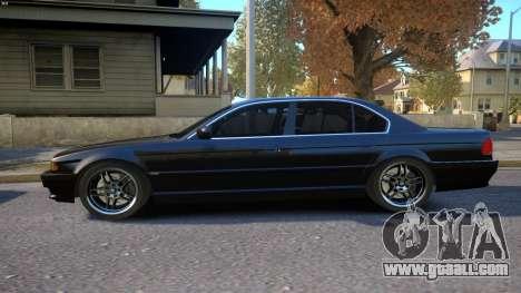 BMW 750i e38 1994 Final for GTA 4 left view