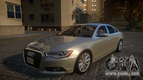 Audi A6 2012 v1.0 for GTA 4