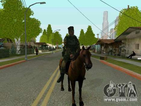 Kuban Cossack for GTA San Andreas third screenshot