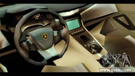 Lamborghini Estoque for GTA San Andreas right view