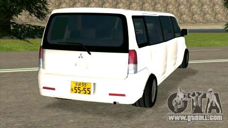 Mitsubishi EK Wagon Limo for GTA San Andreas back left view
