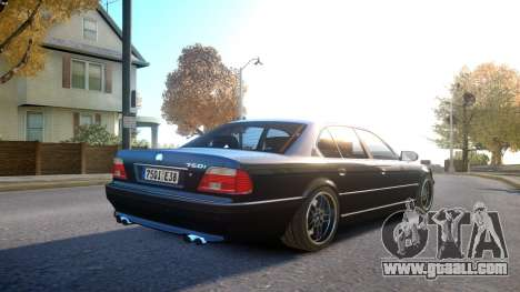BMW 750i e38 1994 Final for GTA 4 right view