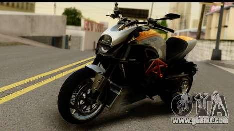 Ducati Diavel 2012 for GTA San Andreas